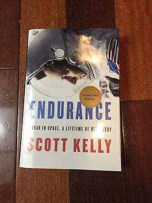 Scott Kelly Sined Book Endurance signed edition