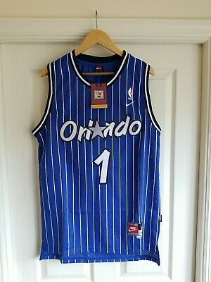 huge selection of a321a d33c0 NWT PENNY HARDAWAY Orlando Magic Retro Throwback Jersey Stitched Size L Blue