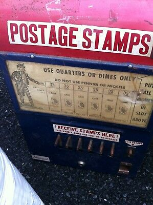 Vintage U.S. Postage Stamp Vending Machine
