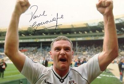 Paul Gascoingne Authentic Signed Spurs 12X8 Photo Aftal#198