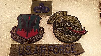 357th TFTS TACTICAL FIGHTER TRAINING SQUADRON PATCH SET