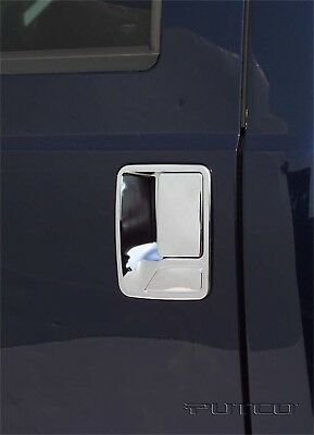 Exterior Door Handle Cover-Chrome Putco 401213 fits 99-10 Ford F-350 Super Duty