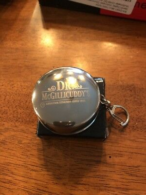 Dr. McGillicuddy's Telescopic Collapsible Stainless Steel Shot Glass Key Chain
