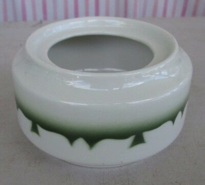 Jackson China ROJ190 Restaurant ware , Green Stenciled Edge Sugar Bowl NO LID