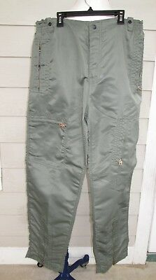 Equipment Flyers Parachute Pants Vintage 1980s Metal Zippers Avirex Green Nylon