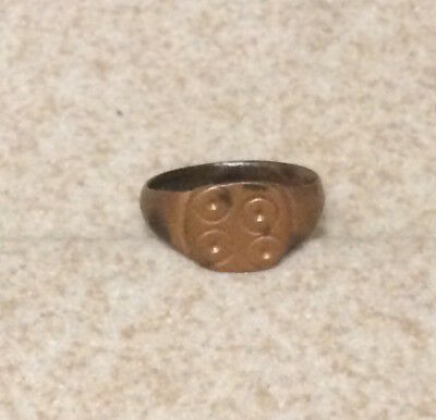 Lac Nice Medieval Ring Xii- Xvi Cent Ad !!! (5)