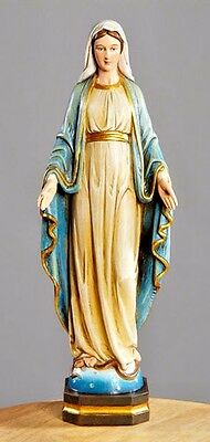 OUR LADY OF GRACE Vintage style statue Virgin Mary Catholic figure