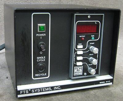 FTS Systems Inc. Model TP-41 Programmable Temperature Controller