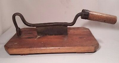 Primitive Early Hand Forged Antique Tobacco Cutter