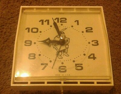 Westclox Wrap On S13-AD Made In USA Vintage Clock-Working FAST SHIPPING