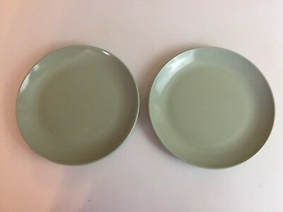Boontonware Plates Mid-Century Modern Somerset Bread & Butters Two 7105 5 7/8