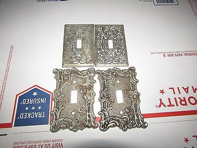 Gothic Architecture 1967 60T Vtg AMERICAN TACK & HOWE CO. LIGHT SWITCH COVER LOT
