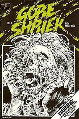 GORE SHRIEK #1 [First Series, Stephen Bissette, Greg Capullo]