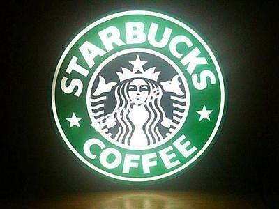 New Starbucks Starbuck スターバックス Coffee Cafe LED LIGHT BOX SIGN Fast Free Shipping