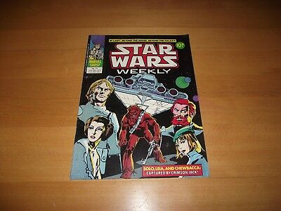 Marvel Star Wars Weekly #21 Excellent Condition