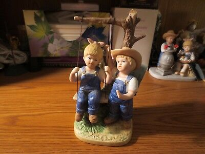Denim Days Homco Figurine 8896 Summer Days1985