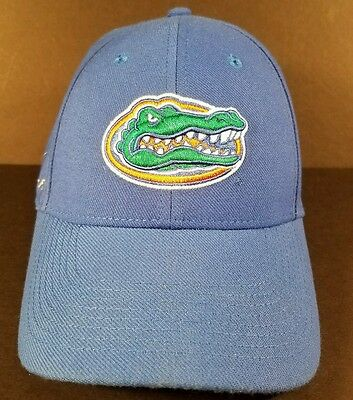 best authentic cdec9 b5eb4 NCAA FLORIDA GATORS BLUE NIKE collegiate DRI FIT SWOOSHFLEX FLEX FIT HAT CAP