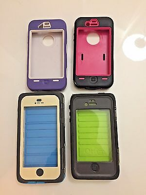 Lot of 2 Otter Box Phone Cases and 2 Generic Phone Cases