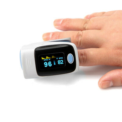 MeasuPro OX200 Instant Read Finger Pulse Oximeter Blood Oxygen SpO2 USA