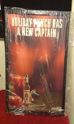Captain Morgan Spiced Rum Artwork Holiday Chalkboard Bar Pub Sign Beer Pirate