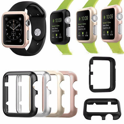 For Apple iWatch Alloy Case Protector Cover Protective Skin Bumper 38/42mm