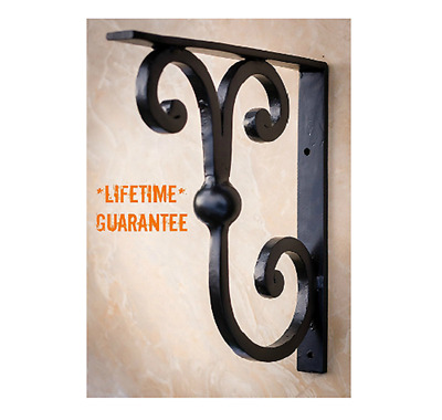 Countertop Support Brackets Granite Counter Bracket Wrought Iron Hand Forged
