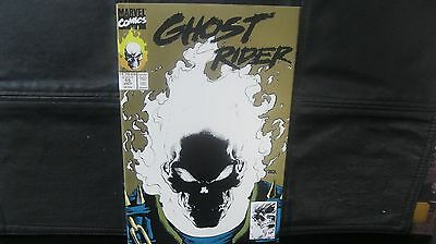 "Ghost Rider  #15 2nd print ""Gold Glow In The Dark Cover""  Nice Unopened Copy"