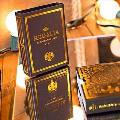 Regalia Playing Cards Luxury Limited Edition Deck Gold foiled cards