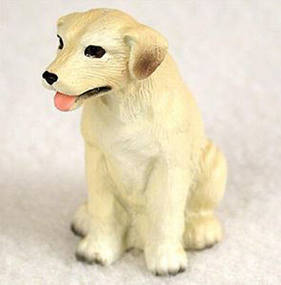 LABRADOR RETRIEVER LAB (YELLOW) TINY ONES DOG Figurine Statue Pet Lovers Resin