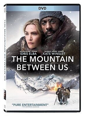 The Mountain Between Us (DVD 2017)NEW* Romance* Now Shipping !!!