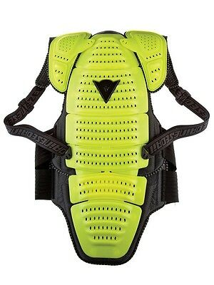 Dainese Motorcycle Back Protector With Scapula /Paraschiena Wave Size M11 Yellow