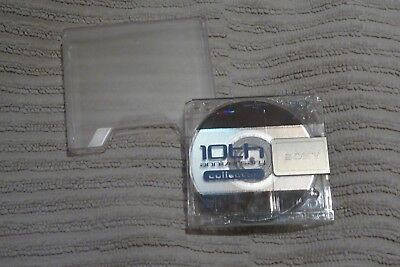 1 x SONY 10th ANNIVERSARY COLLECTION 80 minutes BLANK MINIDISC - OPENED