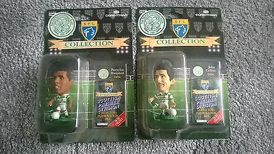 Vintage Corinthian Football Figures - 2 Celtic 1995