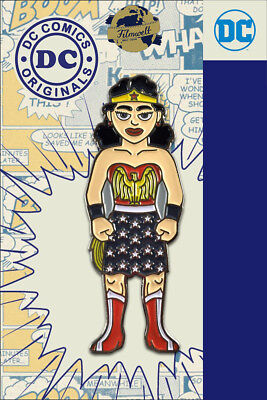 Wonder Woman - exklusiver Sammler Collectors Pin Metall - DC Comics - Neuheit