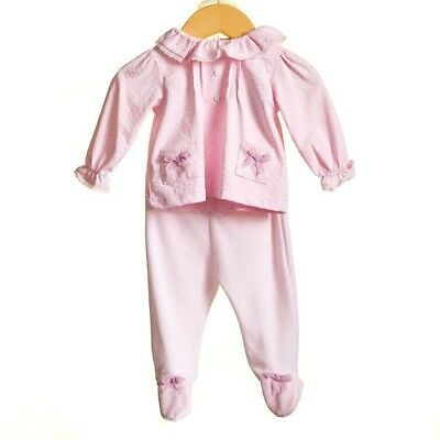 Zip Zap Baby Girls Romany Spanish Style Set Blouse Top & Velour Leggings Outfit