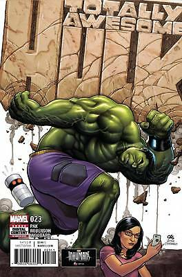 Marvel Comics - Totally Awesome Hulk #023 - 1St Print