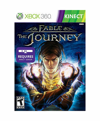 Microsoft Xbox 360 Fable The Journey Kinect Video Game