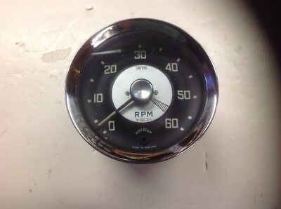 Austin Healey Bugeye Sprite AN5 Used Tachometer/ In Working Condition!