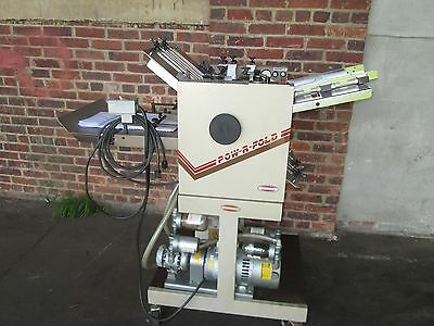 Challenge  Air Feed Folder 14 X 20   Very Clean Price Reduce