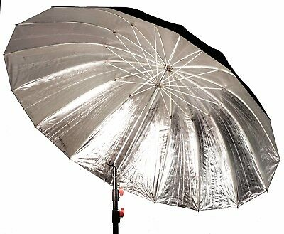 185cm large silver reflective studio umbrella