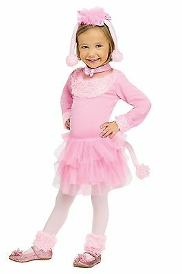 Girls Poodle Costume Pink Fancy Dress Tutu Toddler Child Kids Purim Halloween  sc 1 st  PicClick & GIRLS PINK MERMAID Costume Magenta Green Toddler Kids Child Fancy ...