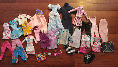 Barbie Mixed Clothing Lot - Some Needs Tlc
