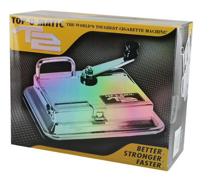 BRAND NEW TOP O MATIC T2 Cigarette Rolling Machine FREE & FAST SHIPPING