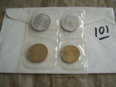 CHILE UNCIRCULATED SET 1972/1974 (1Set) + Circulated Coins (6) + FREE Coins (20)