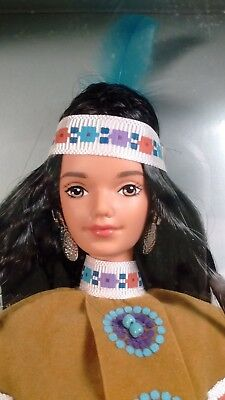Barbie Dolls of the World Native American Fourth Edition Midge Face NRFB