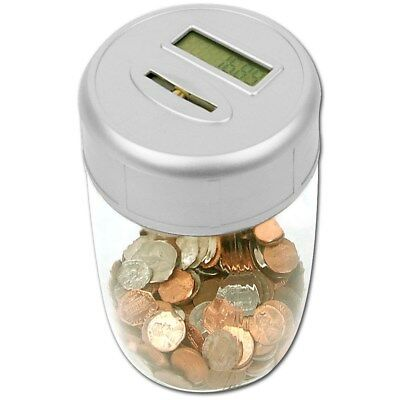 Ultimate Automatic Digital Coin Counting Bank - LED Display - Makes Saving Fun