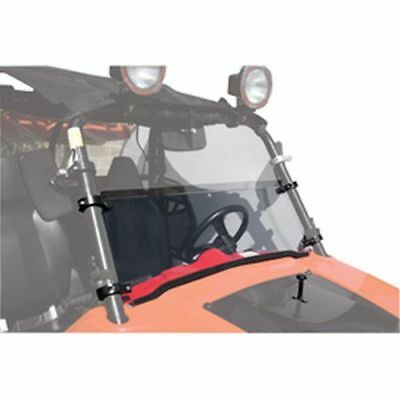 "Polaris RZR 570 800 900 4 S XP 4 XP EPS XC LE Tusk +2"" Half Hinged Windshield"