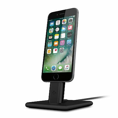 Twelve South HiRise 2 Deluxe for iPhone/iPad, black | Adjustable charging stand