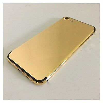 Luxury 24K gold Plated limited Back Housing Door Middle Frame for iPhone 7