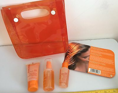 LANCASTER SUN HAIR CARE Protecting SPRAY TRAVEL HOLIDAYS toiletry BAG NEW Gift